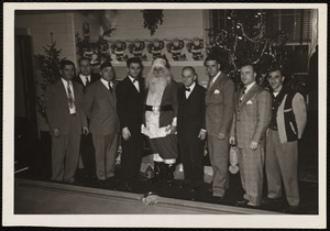 Villages of Newton, MA. Nonantum. Christmas Party Committee