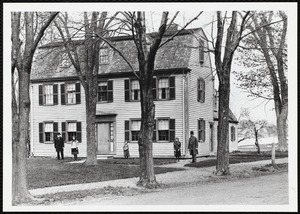 Villages of Newton, MA. West Newton. Phineas Allen house