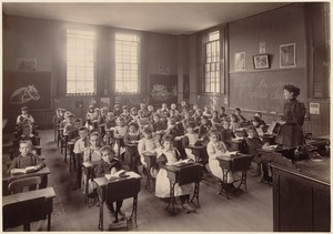 Hyde Primary, 2nd class, Weston Street