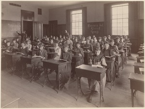 Norcross School - interior - class 3 (room  9) - girls' school