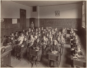 Prince School, first primary, Miss Penney, teacher