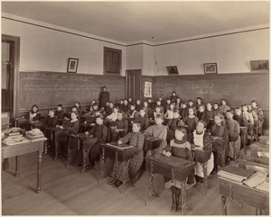 School, South Boston (2nd division) interior