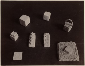 Eight examples of modelling: Blocks, baskets, etc. (Cutler, no. 2)