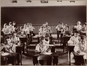 Observation lesson, George Putnam School, class . . .
