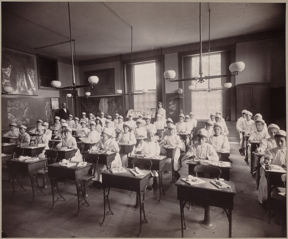 Clay modelling. Hancock District, class III., Primary.