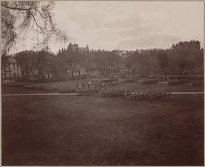 Boston School Regiment. Parade and review, May 13, 1892.