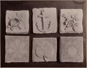 Clay work from primary schools. Class II., Prescott and Quincy Districts.