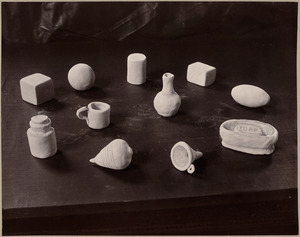 Clay work from primary schools. Class II., Several districts.