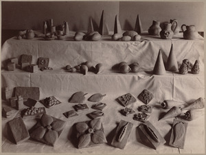 Clay work from primary schools, Dillaway District