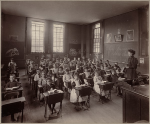 Primary school, class II., Hyde District. (Webster St.)