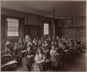 Primary school, class II., Dwight District.