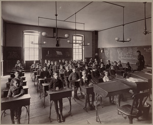 Grammar school, class VI. Dwight District.