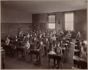 Grammar school, class VI. Eliot District.