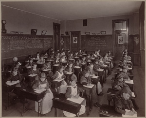 Grammar school, class VI. Dillaway District.