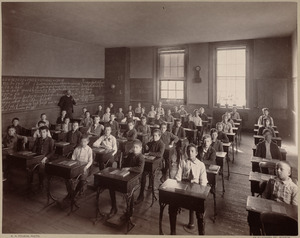 Grammar school, class V. Eliot District.