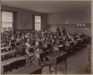 Grammar school, class V. div. I. Wells District.