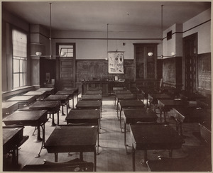 School room for natural science.