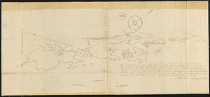 Plan of Islesborough (Long Island Plantation) made by Samuel Warren, dated 1795.