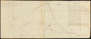 Plan of Buxton, surveyor's name not given, dated June 10, 1795.