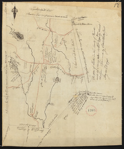 Plan of Leicester, made by Peter Silvester, Jr. dated May 23, 1795.