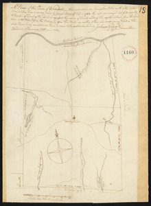 Plan of Wendell, surveyor's name not given, dated January 1, 1795.
