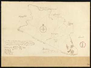 Plan of Hamilton, made by Barnabas Dodge, dated 1794-5.