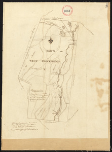 Plan of West Stockbridge surveyed by David Fairchild, dated October, 1794.