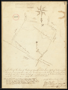 Plan of Boxborough made by Silas Holman, dated November, 1794.