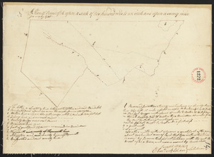"Plan of Randolph, made by ""Set Turner Junior"" according to Seth Turner Crawford of Randolph, his great great grandson, 10 August 1922, see M+P, 3/17/30. 1798 for confirmation, dated January 1795."