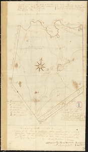 Plan of Waterborough surveyed by Michel Bowden dated May 26, 1795.