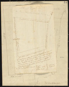 Plan of Norway (Rustfield), surveyor's name not given, dated December 1795.