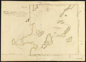 Plan of Raymond surveyed by Osgood Carleton, dated 1798.