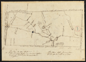 Plan of Spencer, surveyor's name not given, dated October 1795.