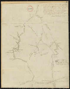 Plan of Upton, surveyor's name not given, dated May 19, 1795.