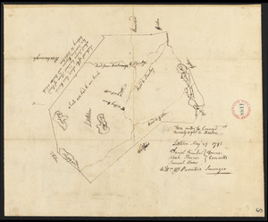 Plan of Littleton, made by William Prentice, dated May 27, 1795.