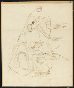 Plan of Egremont made by David Fairchild, dated December, 1794.