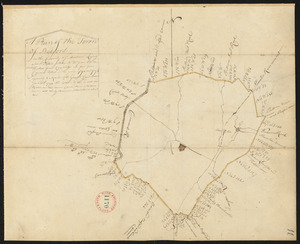 Plan of Bedford, surveyor's name not given, dated 1794-5.