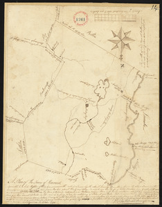 Plan of Harvard surveyed by Silas Holman, dated October 1794.