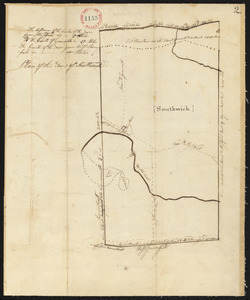 Plan of Southwick, surveyor's name not given, dated 1794-5.