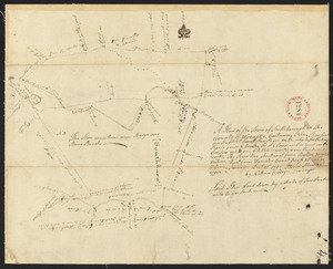 Plan of Southborough surveyed by Nathan Bridges dated December 15, 1794.