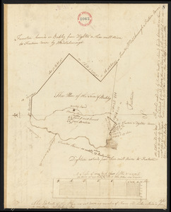 Plan of Berkley, surveyor's name not given, dated 1794-5.