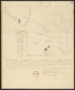 Plan of Ashby, surveyor's name not given , dated 1794.
