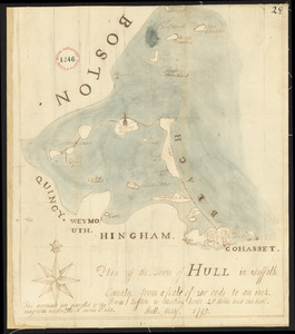 Plan of Hull, surveyor's name not given, dated May 1795.