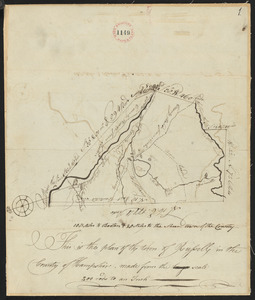 Plan of Russell, surveyor's name not given, dated 1794.