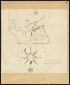 Plan of Manchester surveyed by Delucens Bingham, dated May 1795.