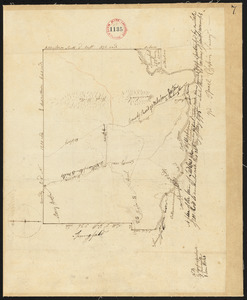 Plan of Ludlow surveyed by Isreal Chapin, dated May 20, 1795.