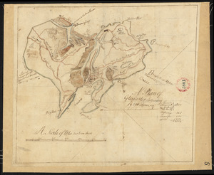 Plan of Gloucester, surveyor's name not given, dated 1794.