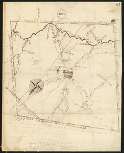 Plan of Barre surveyor's name not given, dated December, 1794.