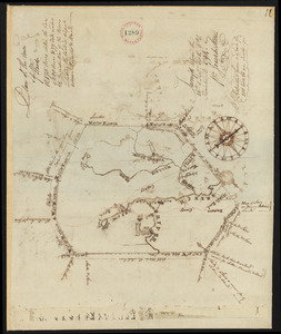 Plan of Ward (Auburn), surveyed by Joseph Stone, dated November 6, 1794.
