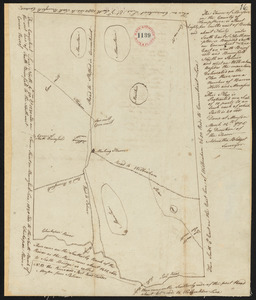 Plan of Monson surveyed by Admatha Blodgett, dated March 14, 1795.